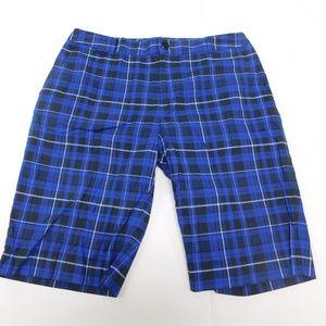 LRL Lauren Active 8 Blue Casual Shorts Bermuda Cot